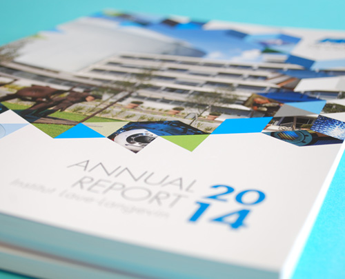 an annual report for the world's finest minds