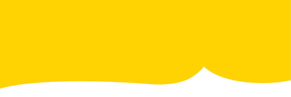Yellow graphic device used to create recognition on a range of Floodline collateral