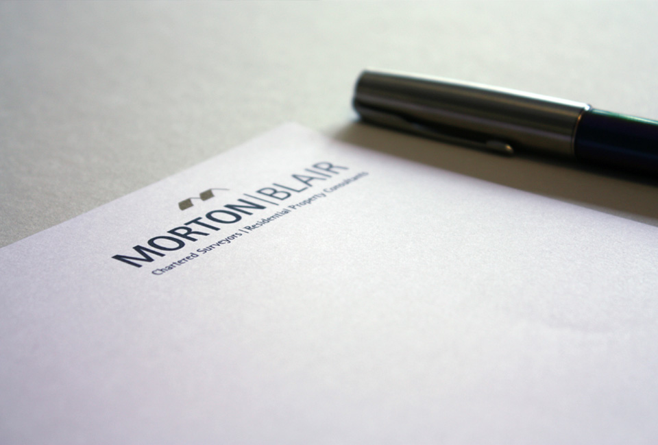 Refreshed brand identity applied to a letterhead